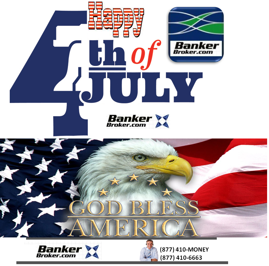 Happy 4th of July from BankerBroker.com